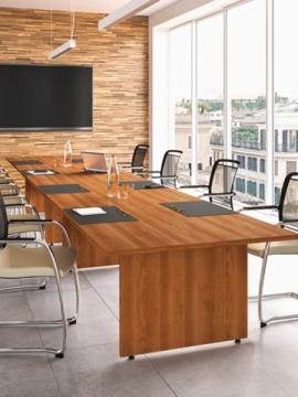 Tavolo riunioni per ufficio in legno