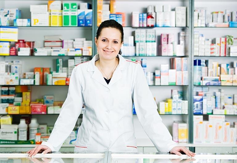 pannello di protezione anti-droplet farmacia